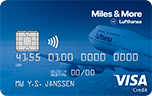 Miles & More Visa Blue Card