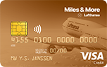 Miles & More Visa Gold Card